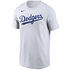 Nike Los Angeles Dodgers T-Shirt Wordmark weiß (1)