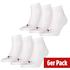 Puma Socken 6er Pack Low Weiß