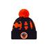 New Era Chicago Bears Beanie On Field Sport Knit schwarz/orange
