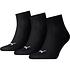 Puma Socken 3er Pack Low Schwarz