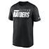 Nike Las Vegas Raiders T-Shirt Team Name Sideline schwarz (1)