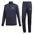 Adidas Trainingsanzug 3 Streifen Blau