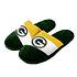 Forever Collectibles Green Bay Packers Hausschuhe Colourblock grün/weiß/gelb (1)