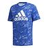 Adidas T-Shirt PUZZLE Blau (1)