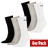 Puma Socken 6er Pack Lang SW/Grau/Weiß