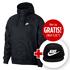 Nike Kapuzenjacke Windrunner mit Cap True Futura 2er Set Schwarz (1)