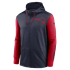 Nike New England Patriots Kapuzenjacke Therma Left Chest Mascot blau/rot (1)