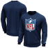 Fanatics NFL Shield Sweatshirt Logo Graphic navy (1)