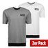 Puma T-Shirt New Rebel 2er Set Weiß/Grau (1)
