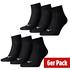 Puma Socken 6er Pack Low Schwarz (1)
