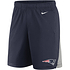 Nike New England Patriots Shorts Logo Core navy/silber (1)