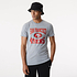 New Era San Francisco 49ers T-Shirt Team Logo grau (1)