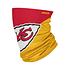 Forever Collectibles Kansas City Chiefs Gaiter Halstuch Maske Big Logo rot/gelb (1)