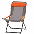 Portal Campingstuhl Eddy 60x48x100 cm grau/orange (1)