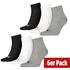 Puma Socken 6er Pack Low SW/Grau/Weiß