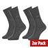 Calvin Klein Socken 2er Pack CREW CARTER Grau (1)