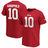 Fanatics San Francisco 49ers T-Shirt Iconic N&N Garoppolo No 10 rot