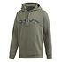 Adidas Hoodie Camo LIN Oliv (1)