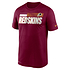 Nike Washington Redskins T-Shirt Team Name Sideline rot (1)