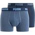 Puma Boxershorts 2er Pack Retropants Blau/Dunkelblau