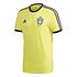 Adidas Schweden T-Shirt EM 2021 Gelb (1)