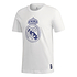Adidas Real Madrid T-Shirt Wappen 2020/2021 Weiß (1)