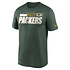 Nike Green Bay Packers T-Shirt Team Name Sideline grün (1)