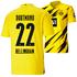 Puma Borussia Dortmund Heim Trikot BELLINGHAM 2020/2021 Kinder (1)