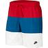 Nike Freizeit- und Badeshorts 3S Rot/Blau/Weiß (1)
