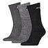 Puma Socken 3er Pack Lang SW/Grau/Anthrazit (1)