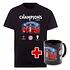 FC Bayern München T-Shirt CHAMPIONS 2020 + Tasse Champion Schwarz/Schwarz (1)