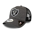 New Era Las Vegas Raiders Cap Shadow Tech Trucker grau (1)