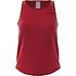 Adidas Muskelshirt Core Linear Damen rot (1)