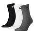 Puma Socken 3er Pack Mid SW/Grau/Weiß