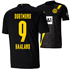 Puma Borussia Dortmund Auswärts Trikot HAALAND 2020/2021 Kinder (1)
