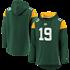 Fanatics Green Bay Packers Hoodie Overhead dunkelgrün/gelb (1)