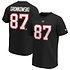 Fanatics Tampa Bay Buccaneers T-Shirt Iconic N&N Gronkowski No 87 schwarz
