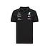 Mercedes AMG Petronas Team Poloshirt 2020 schwarz (1)