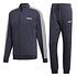 Adidas Trainingsanzug 3 Streifen RELAX Blau (1)