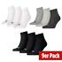 Puma Socken Low 3er Pack-3er Set=9 Paar weiß/schwarz/grau (1)