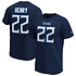 Fanatics Tennessee Titans T-Shirt Iconic N&N Henry No 22 navy (1)