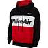 Nike Hoodie NIKE AIR Schwarz/Weiß/Rot (1)
