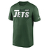 Nike New York Jets T-Shirt Team Name Sideline grün (1)