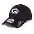 New Era Green Bay Packers Cap Black Base 9FORTY schwarz (1)