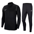 Nike Trainingsanzug Park Schwarz
