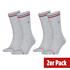 Tommy Hilfiger Socken 2er Pack ICONIC SOCK Hellgrau (1)