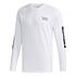 Adidas Langarmshirt BRAND Weiß (1)