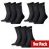 Puma Socken Lang 3er Pack - 3er Set = 9 Paar Socken schwarz (1)
