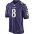 Nike Baltimore Ravens Trikot Heim Game Jackson (1)