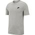 Nike T-Shirt Klassik Grau/Schwarz (1)